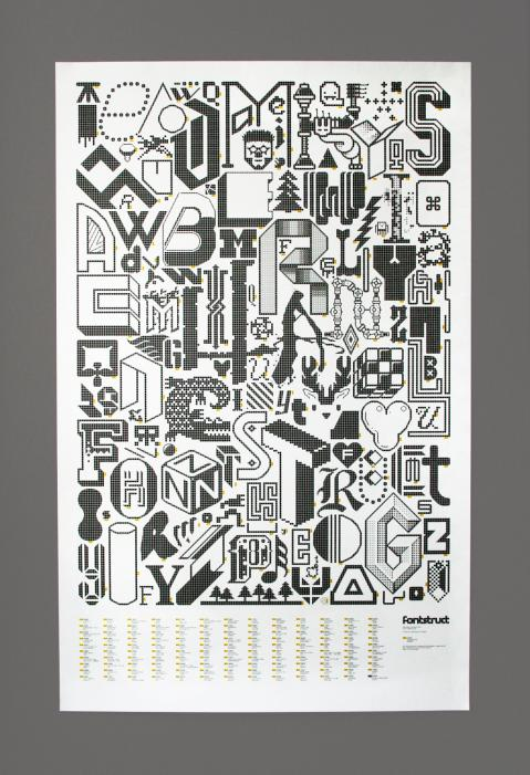 FontStruct Poster Complete