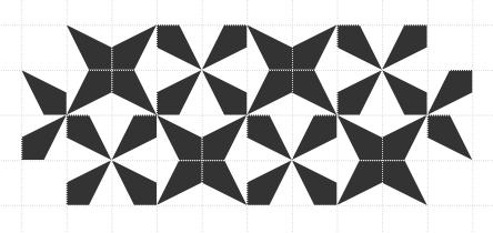 Kite bricks