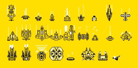 Pixel Spaceships